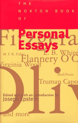Norton Book of Personal Essays  N/A edition cover