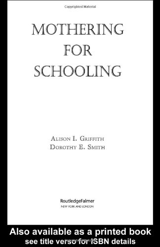 Mothering for Schooling   2005 edition cover