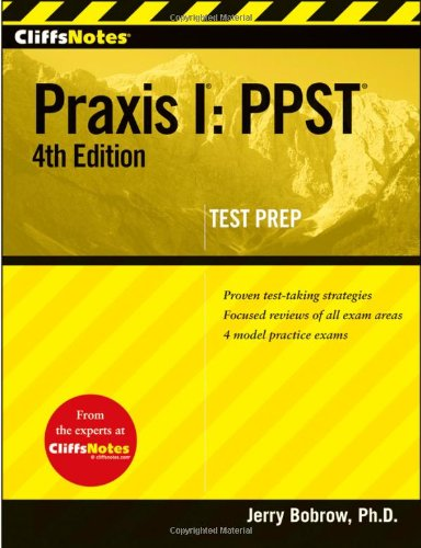 Praxis I PPST 4th 2010 edition cover