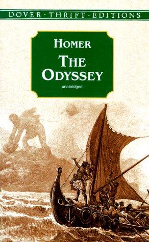 Odyssey   1999 (Unabridged) edition cover