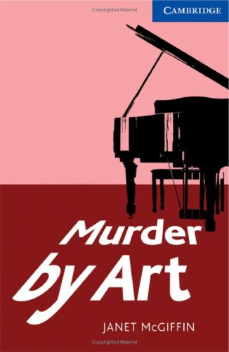 Murder by Art Level 5 Upper Intermediate   2009 edition cover