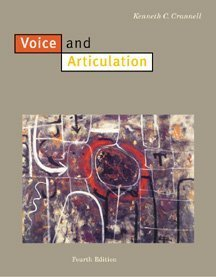 Voice and Articulation  4th 2000 (Revised) 9780534523541 Front Cover