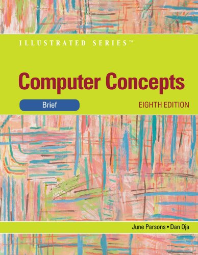 Computer Concepts  8th 2011 (Brief Edition) 9780538749541 Front Cover