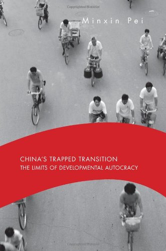 China's Trapped Transition The Limits of Developmental Autocracy  2006 9780674027541 Front Cover