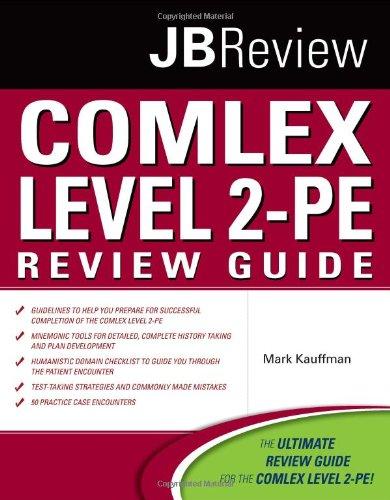 Comlex Level 2-PE   2011 (Revised) edition cover