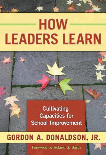 How Leaders Learn Cultivating Capacities for School Improvement  2008 edition cover