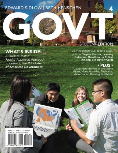 GOVT  4th 2013 edition cover