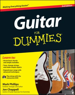 Guitar for Dummies  3rd 2012 9781118115541 Front Cover
