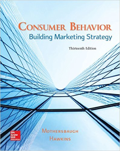 Consumer Behavior: Building Marketing Strategy 13th 2015 edition cover