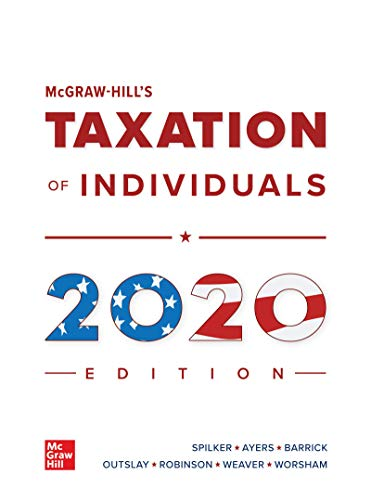 Loose Leaf for Mcgraw-Hill's Taxation of Individuals 2020 Edition  11th 2020 9781260432541 Front Cover