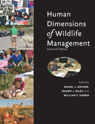 Human Dimensions of Wildlife Management  2nd 2012 edition cover