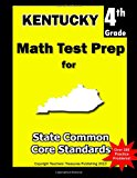 Kentucky 4th Grade Math Test Prep Common Core Learning Standards N/A 9781484805541 Front Cover