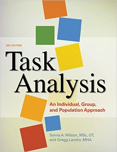 TASK ANALYSIS                           N/A 9781569003541 Front Cover