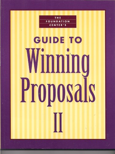 Foundation Center's Guide to Winning Proposals II  2005 edition cover