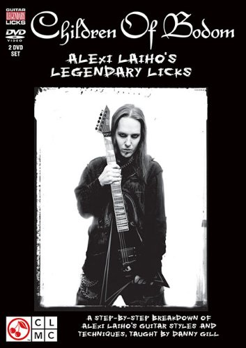 Children of Bodom: Alexi Laiho's Legendary Licks  2009 edition cover