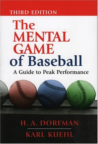 Mental Game of Baseball A Guide to Peak Performance 3rd edition cover