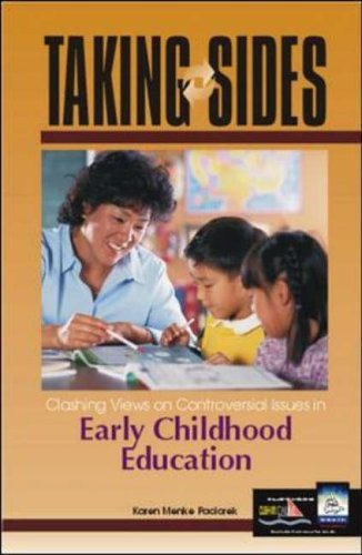 Taking Sides Early Childhood Education Clashing Views on Controversial Issues in Early Childhood Education  2002 9780072480542 Front Cover