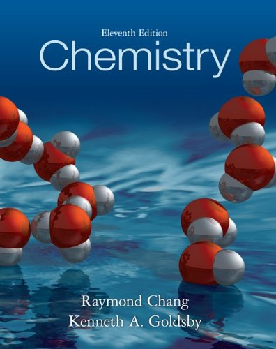 Student Solutions Manual for Chemistry  11th 2013 edition cover