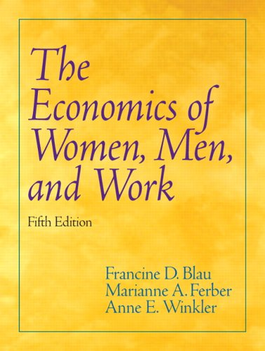 Economics of Women, Men, and Work  5th 2006 (Revised) edition cover