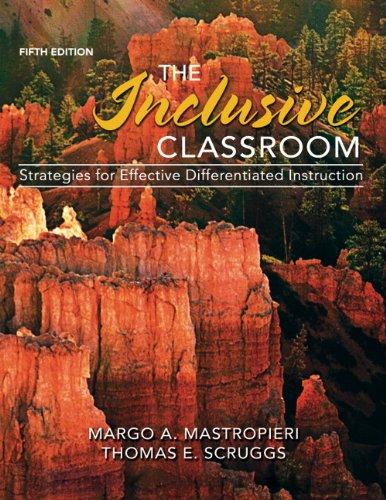 Inclusive Classroom  5th 2014 edition cover