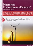 MasteringEnvironmentalScience with Pearson EText -- Standalone Access Card -- for the Environment and You  2nd 2016 edition cover