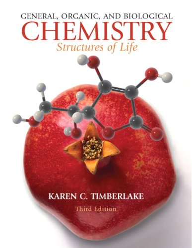 General, Organic, and Biological Chemistry Structures of Life 3rd 2010 edition cover