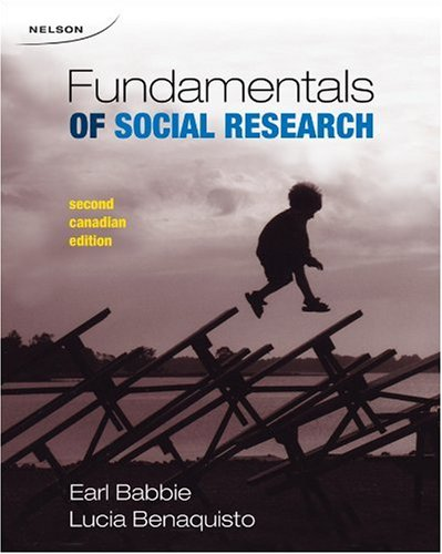 FUND.OF SOCIAL RESEARCH >CANAD 2nd 2008 9780176414542 Front Cover