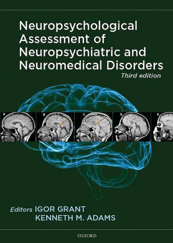 Neuropsychological Assessment of Neuropsychiatric and Neuromedical Disorders  3rd 2009 edition cover