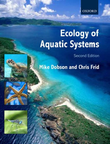 Ecology of Aquatic Systems  2nd 2008 edition cover
