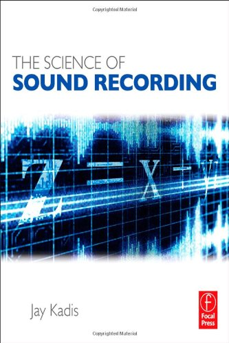 Science of Sound Recording   2012 edition cover