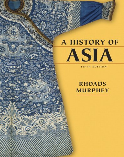 History of Asia  5th 2006 (Revised) edition cover