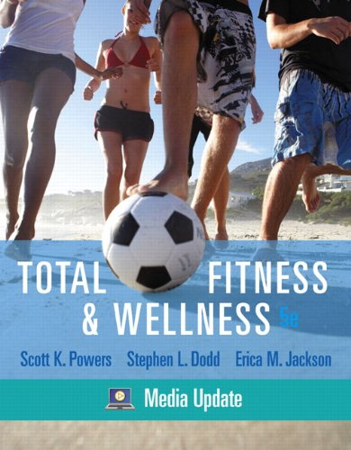 Total Fitness and Wellness, Media Update  5th 2011 (Revised) edition cover