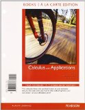 Calculus with Applications  10th 2012 edition cover