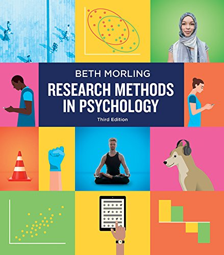 Research Methods in Psychology: Evaluating a World of Information  2017 9780393617542 Front Cover