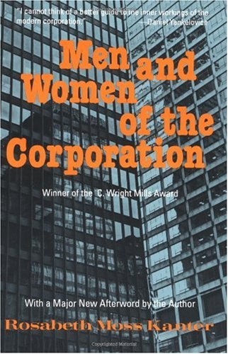 Men and Women of the Corporation  2nd 1993 (Reprint) edition cover