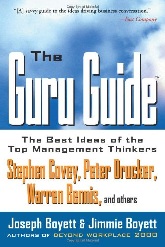 Guru Guide The Best Ideas of the Top Management Thinkers 2nd 1998 edition cover