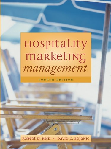 Hospitality Marketing Management  4th 2006 (Revised) edition cover