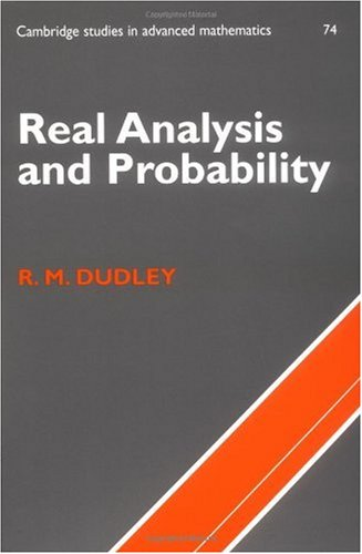 Real Analysis and Probability  2nd 2002 (Revised) edition cover