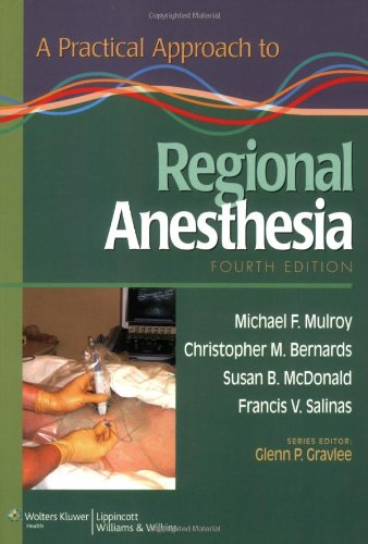Regional Anesthesia  4th 2009 (Revised) edition cover
