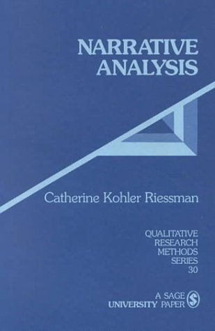 Narrative Analysis   1996 edition cover