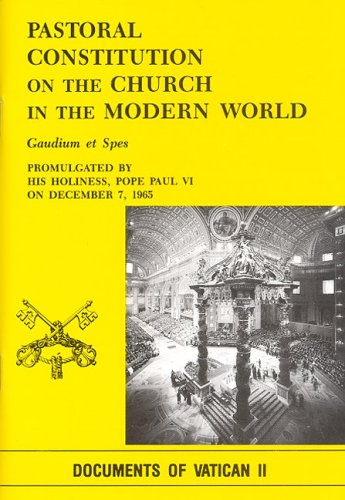 Pastoral Constitution on the Church in the Modern World : Gaudium et Spes 1st edition cover
