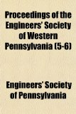 Proceedings of the Engineers' Society of Western Pennsylvania N/A edition cover