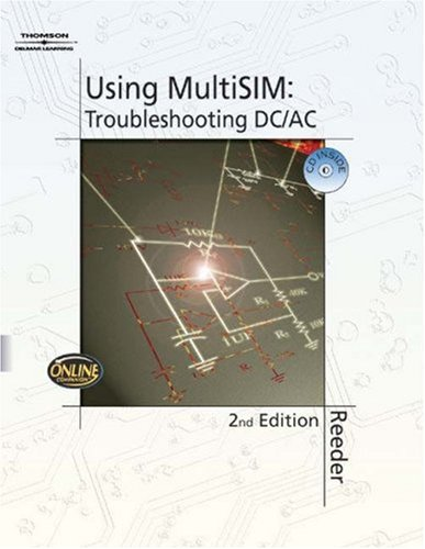 Using MultiSIM Troubleshooting DC/AC 2nd 2005 edition cover