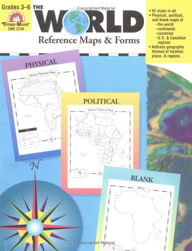 World Reference Maps and Forms, Grades 3-6  N/A edition cover