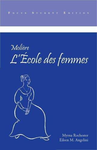 Ecole des Femmes  Student Manual, Study Guide, etc. edition cover