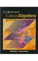 Elementary Linear Algebra  5th 1994 (Revised) 9780030973543 Front Cover