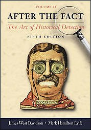 After the Fact The Art of Historical Detection  2005 edition cover