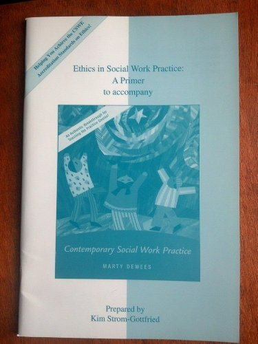 ETHICS IN SOCIAL WORK PRACTICE 1st edition cover