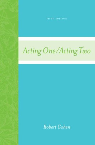 Acting One/Acting Two  5th 2008 edition cover