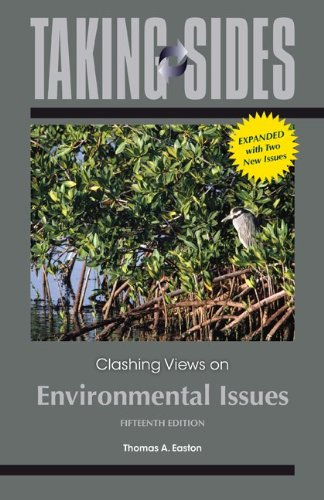 Taking Sides: Clashing Views on Environmental Issues, Expanded  15th 2014 edition cover